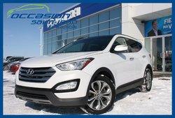 Hyundai Santa Fe Sport Limited  AWD+GPS+CUIR+TOIT PANORAMIQUE  2014