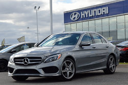 Mercedes-Benz C-Class C400  4MATIC  **GPS+TOIT PANO+ROUES AMG**  2015