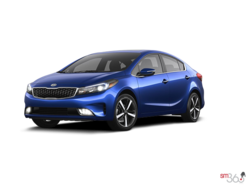 2017 Kia FORTE 2.0L EX LUXURY AUTO (PEARL PAINT) FORTE (YDM) EX LUXE