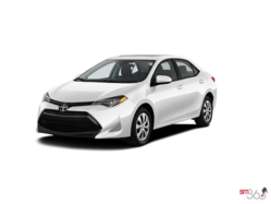 2017 Toyota COROLLA CE 6M