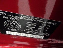 2016 Hyundai Elantra 13 733 KM GL AC ÉQUIPEMENT COMPLET