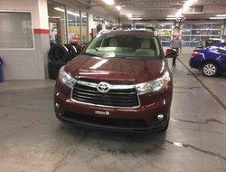 2016 Toyota Highlander Limited 4 pneus d hiver et demareur