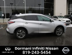 Nissan Murano SL AWD, LEATHER, GPS, CERTIFIED NISSAN  2017