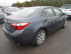 Toyota Corolla LE RCAM  2016