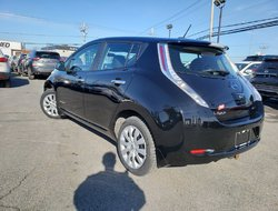 Nissan Leaf S, certifié jamais accidenté, électrique  2016