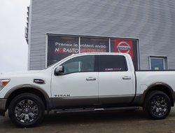 Nissan Titan Platinum Reserve