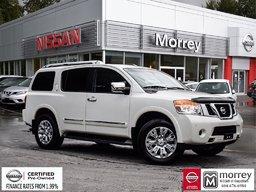 2015 Nissan Armada Platinum 8 Passenger * Leather, Navi, Camera, USB! Local BC Vehicle, One Owner, No Collisions!