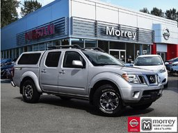 2016 Nissan Frontier Crew Cab PRO-4X Leather Package * Canopy, Navi,Camera, USB! Local BC Truck, One Owner, No Collisions, Low KM!
