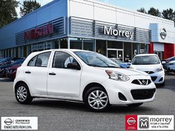 2015 Nissan Micra S * Air Conditioning, Cruise Control! Local BC Car, One Owner, No Collisions!