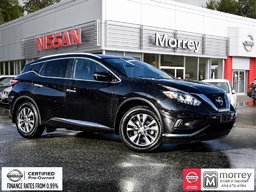 2015 Nissan Murano SL AWD * Heated Leather Seats, Navi, Moonroof, USB Local BC Vehicle, One Owner!