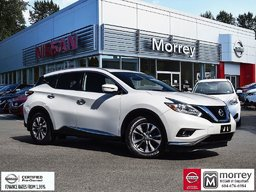 2016 Nissan Murano SL AWD * Heated Leather Seats, Moonroof, Navi, USB Local BC Vehicle, One Owner, No Collisions!