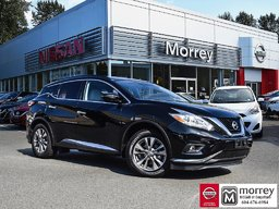 2016 Nissan Murano SV AWD * Leather, Backup Camera, Navi, Moonroof! Local BC Vehicle, One Owner, No Collisions, Low KM!