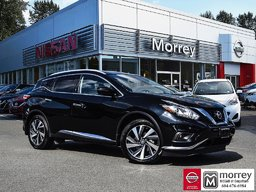 2017 Nissan Murano Platinum AWD * Fully-loaded, Cooled Leather, Navi! Local BC Vehicle, One Owner, No Collisions!