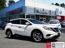 2017 Nissan Murano SV AWD Driver Assistance * Moonroof, 360° Camera! Local BC Vehicle, One Owner, No Collisions, Low KM!
