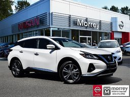 2019 Nissan Murano Platinum AWD Cargo Package * Huge Demo Savings! APPLE CARPLAY/ANDROID AUTO, ADVANCED DRIVE-ASSIST DISPLAY, NISSAN CONNECT TOUCH SCREEN DISPLAY!