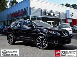 2017 Nissan Qashqai SL AWD  * Heated Leather Seats, Navi, 360° Camera! Local BC Vehicle, One Owner, Low KM!