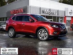 2015 Nissan Rogue SL AWD Premium * Fully-loaded, Leather, Navi, USB! Local BC Vehicle, One Owner!
