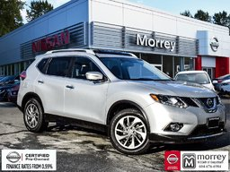 2015 Nissan Rogue SL AWD Premium * Fully-loaded, Leather, Navi, USB! Local BC Vehicle, One Owner, No Collisions, Low KM!