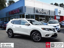 2016 Nissan Rogue SL AWD Premium * Fully-loaded, Leather, Navi, USB! Local BC Vehicle, One Owner!