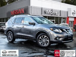 2016 Nissan Rogue SL AWD Premium * Fully-loaded, Leather, Navi, USB! Local BC Vehicle, One Owner, Low KM!