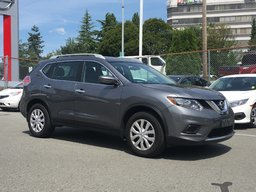 2016 Nissan Rogue S * Backup Camera, Bluetooth, Satellite Radio, USB Local BC Vehicle, One Owner, No Collisions!