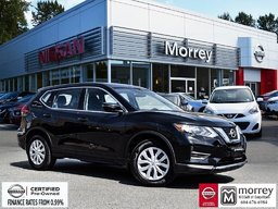 2017 Nissan Rogue S * Backup Camera, Bluetooth, Keyless Entry, USB! Local BC Vehicle, One Owner, No Collisions!