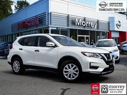 2019 Nissan Rogue S * IEB, Backup Camera, Heated Seats, CarPlay, USB Local BC Vehicle, One Owner, No Collisions, Low KM!