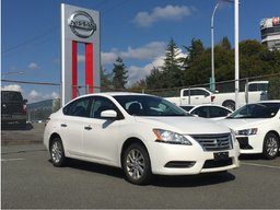 2015 Nissan Sentra SV * Alloy Wheels, Heated Seats, Backup Camera! Local BC Car, One Owner, No Collisions, Low KM!