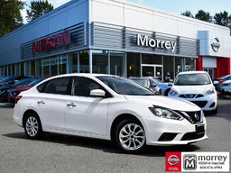 2016 Nissan Sentra SV Moonroof * Bluetooth, Heated Seats, Smart Key! Local BC Car, One Owner!