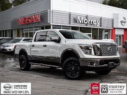 2018 Nissan Titan Crew Cab Platinum Reserve 4x4 * Off-Road Package! Local BC Truck, One Owner, No Collisions, Low KM!