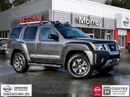 2015 Nissan Xterra PRO-4X * Fully-loaded, Leather, Navi, Camera, USB! Rare, Local BC Vehicle, One Owner, No Collisions!