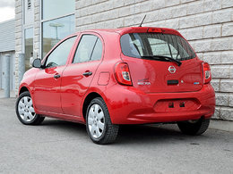 2015 nissan micra s rouge 28000km 1 proprio d 39 occasion longueuil inventaire d 39 occasion. Black Bedroom Furniture Sets. Home Design Ideas