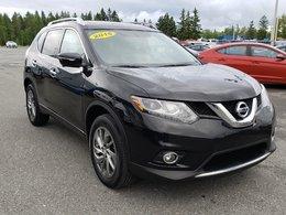 2015 Nissan Rogue SL AWD, CUIR, NAV, GPS, TOIT PANORAMIQUE, MAGS
