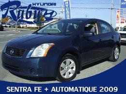 Nissan Sentra MODEL FE PLUS AUTOMATIQUE A VOIR AUTO PAS CHER 2009