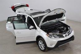 Toyota RAV4 Limited 4WD JBL*LDA*GPS*Cuir*Toit*Camera Recul 2015