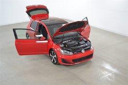 Volkswagen Golf GTI Tech. GPS*Radar*Cuir*Fender*Toit Ouvrant DSG 2015