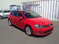 Volkswagen Golf 2.0 TDI Highline+KITE HIVER+GARANTIE COMPLÈTE+NAV 2015