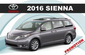 2016 Sienna LE V6 8-Pass 6A