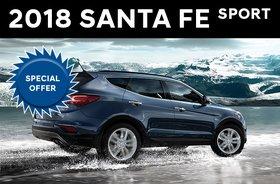 2018 Santa Fe Sport 2.4L FWD