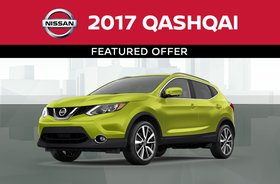 2017 Qashqai featured offer