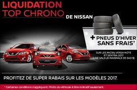 Liquidation Top Chrono chez Nissan
