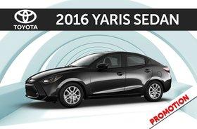 2016 Yaris Sedan 6MT