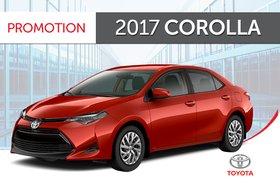 2017 Corolla SE