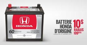 Offre spéciale sur les batteries
