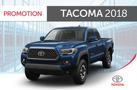Tacoma 4X4 Acces<br>L4 - SR5 6A 2018
