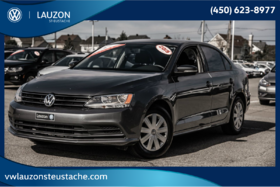 2015 Volkswagen Jetta Sedan Trendline+A/C+Groupe Electrique+Bluetooth
