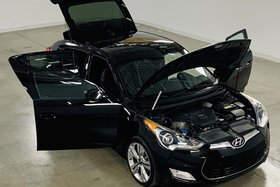 Hyundai Veloster Tech. GPS*Cuir/Tisssus*Toit Ouvrant* 2014