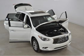 2014 Infiniti QX60 4WD Cuir*Toit Ouvrant*Camera Recul 7 Passagers