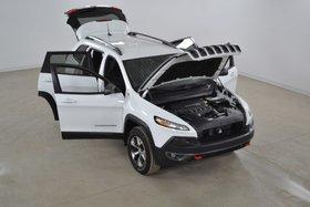 Jeep Cherokee Trailhawk 4x4 Cuir*Bluetooth*Camera Recul 2016