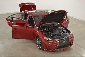 2014 Lexus IS 250 AWD F-Sport Serie 2 GPS*Cuir*Toit*Camera Recul*